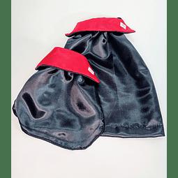 Capa disfraz drácula para halloween