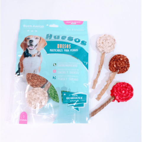 Paleta de snack marca Amigo