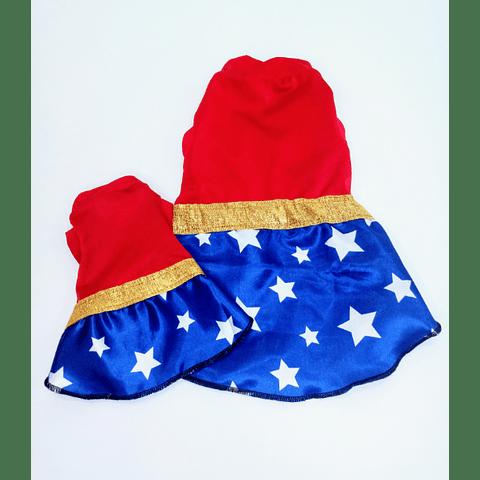 Vestido Wonder Woman (xs - xl)