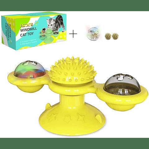 Juguete con rotación para gato Rotate Windmill