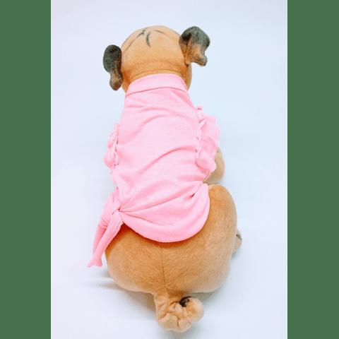 Polera Punto Pet Modal rosa