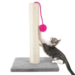 Rascador con bolita para gato