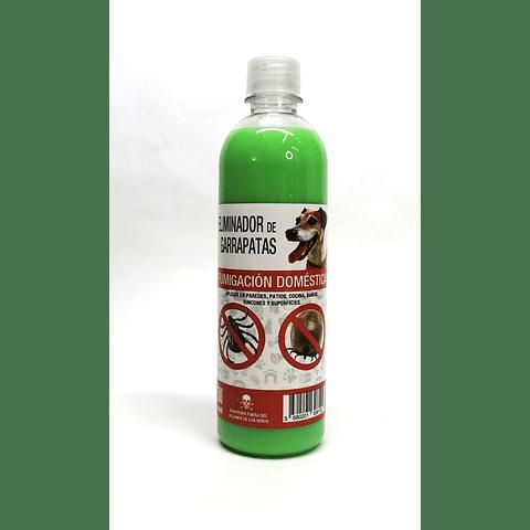 Sanitario. Eliminador de garrapatas pulgas y piojos para perros