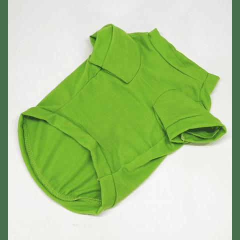 Polera verde Alas talla m