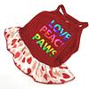 Vestido algodón Love corazones talla XS