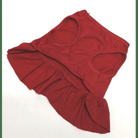 Vestido Love rojo algodón talla XS
