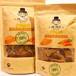 Galletas naturales horneadas Mr. Woof Pollo Zanahoria