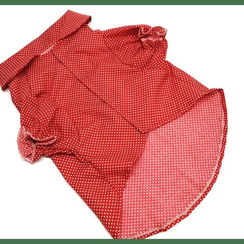 Blusa de verano para perrita, Talla 2XL, 45 cms de largo