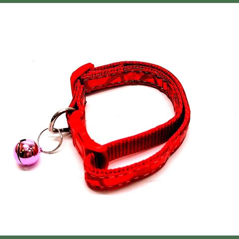Collares en colores metalizados, ajustables para perro/gato.