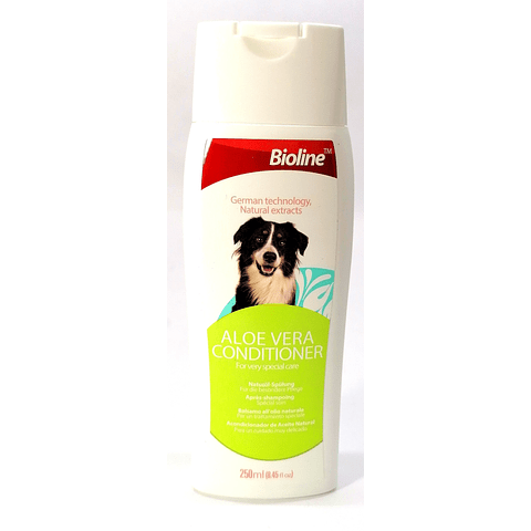 Acondicionador Bioline para perro, 250ml.