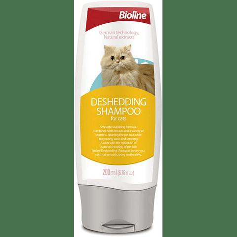 Shampoo desenredante para gato