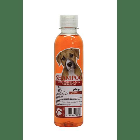 Sanitario. Shampoo antipulgas  para perro