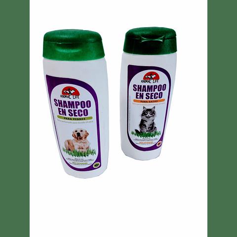Sanitario. Shampoo en seco (100gr.) para gato/perro