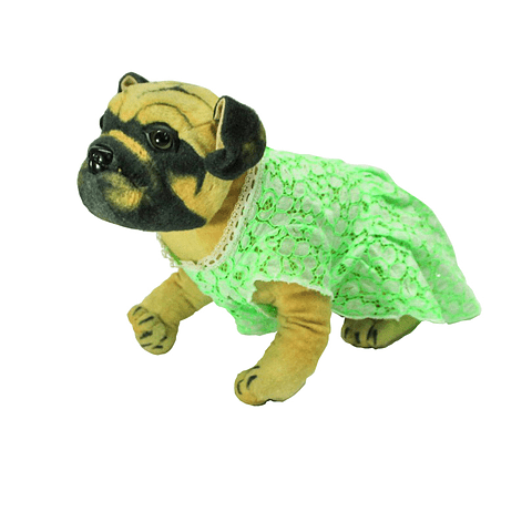 Vestido encaje verde talla L