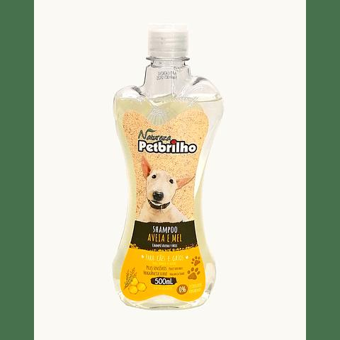Shampoo  Petbrilho Avena y miel para perro. 500ml.