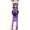 Collares estampados ajustables para perro pequeño y mediano.