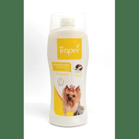 Acondicionador balsámico de coco para perro, Traper. 260 ml