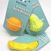 Juguete de goma en forma de frutas, para relleno o premios