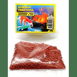 Alimento para peces.