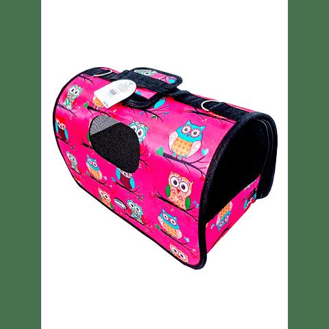 Maleta transportadora para mascotas, (30 cms de largo).