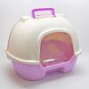 Baño arenero con filtro de carbón para gato.