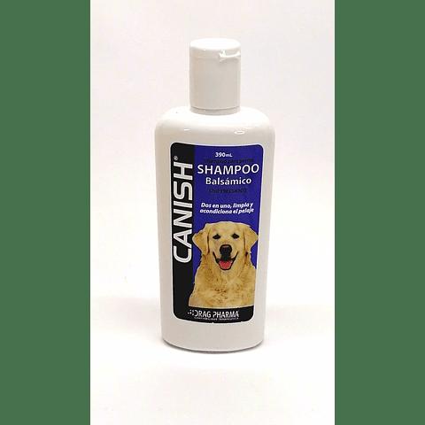 Shampoo Balsámico Canish para perro.