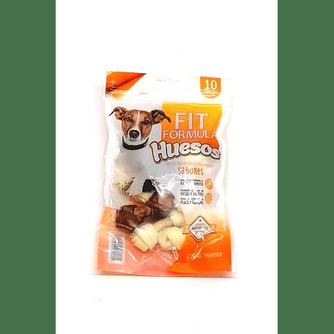 Huesitos Fit formula sabores para perritos.