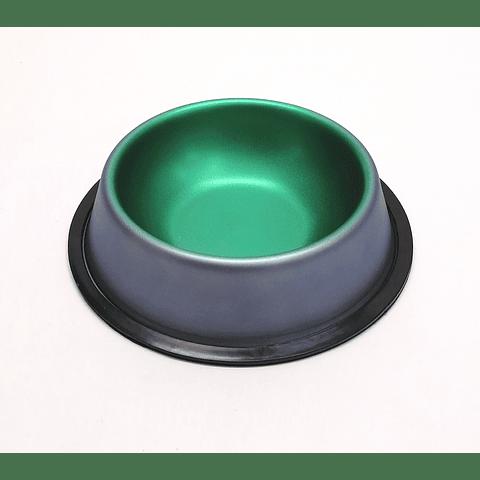 Plato para perro colores metálicos