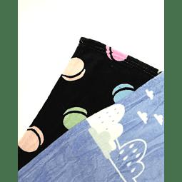 Manta de felpa estampada (110 cms x 90 cms)