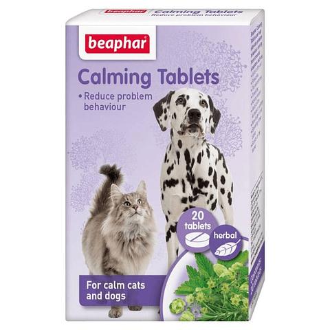 Calming Tabletas beaphar para gatos y perros