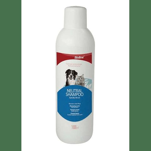 Shampoo Neutro para perros y gatos 1000 ml.