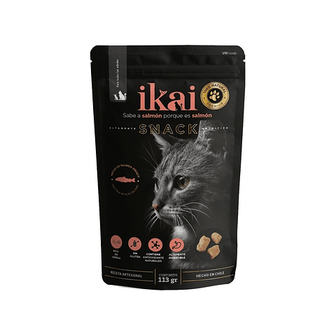 Snack Ikai para gato