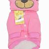 Polerón con capucha de oso para gatos/perros pequeños