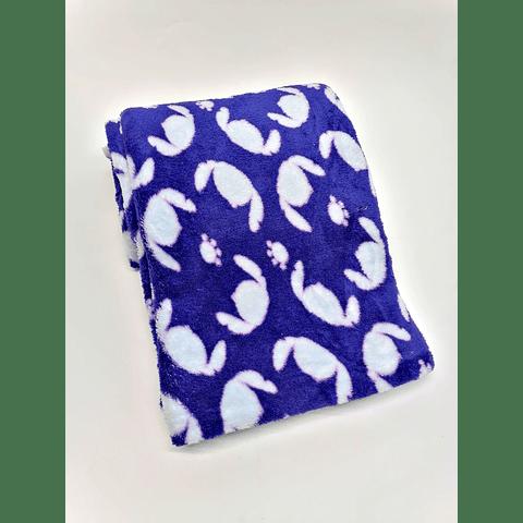 Manta de felpa estampada (1.50 x 95 cms)