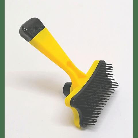 Cepillo pequeño con limpiador para perro/gato