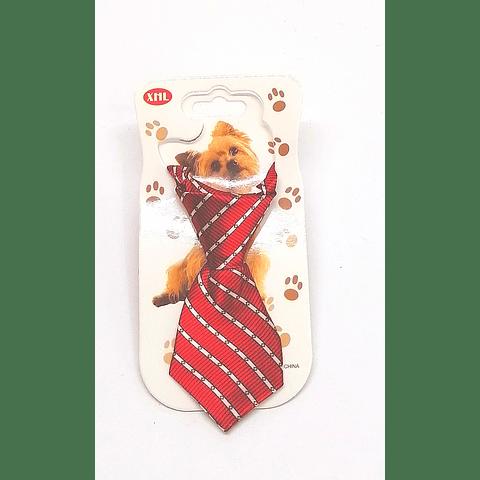 Corbata con collar para perro o gato