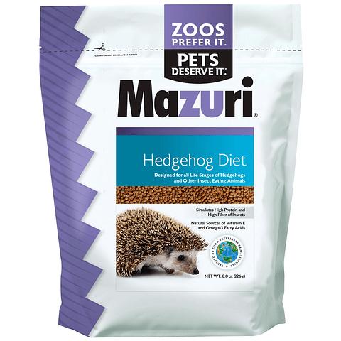 Mazuri Erizo Hedhehog diet