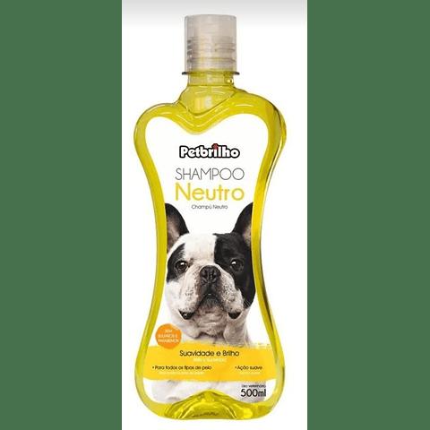 Sanitario. Shampoo petbrilho neutro para perro.
