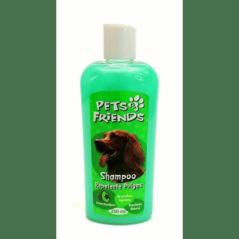 Shampoo pets friends, repelente de pulgas para perros.(250ml)