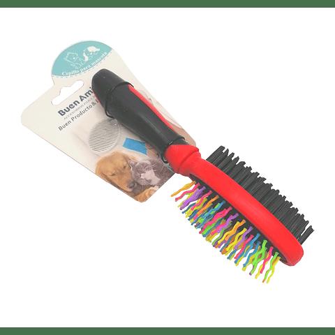 Cepillo doble cerdas colores