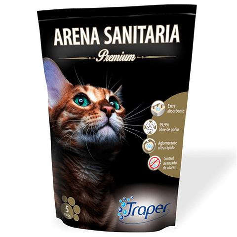 Arena sanitaria Traper  Premiun para gato