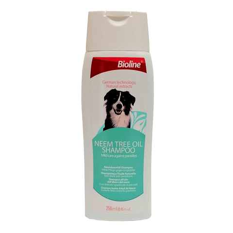 Shampoo Neem tree oil, para perro.