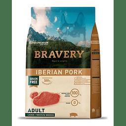 Alimento Bravery Cerdo para perro adulto, 4kg