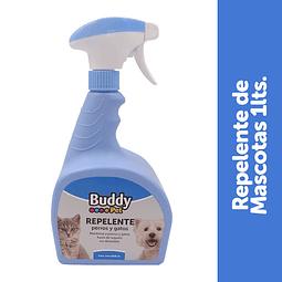 Repelente Buddy Pet para perros y gatos