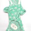 Ropa. Pijama  estampada estrellas para mascotas.