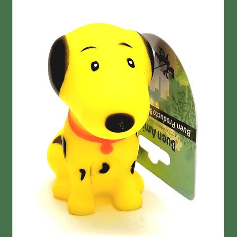 Juguete. Perrito de goma para perro.