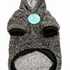 Ropa. Corderito polerón con capucha para mascotas.