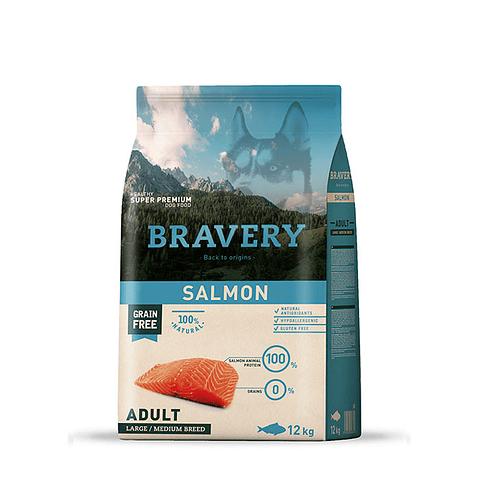 Bravery Adulto de Salmón 12kg para perros