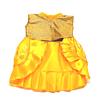 Vestido Dorado. (único)