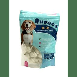 Snack hueso de cartílago blanco (paquetes de 15 unidades)  para perros.